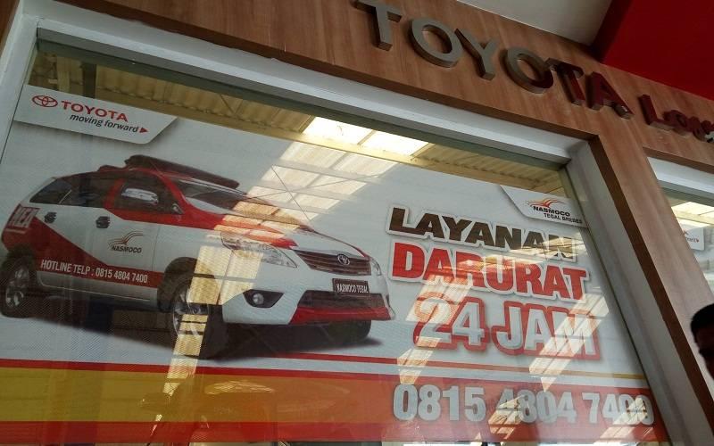 Layanan Darurat Toyota Nasmoco