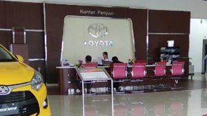 Sales Counter Toyota tegal